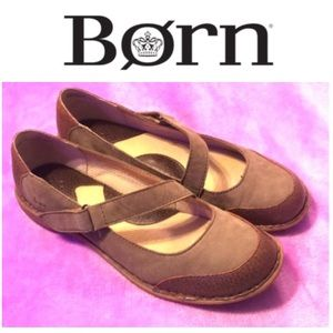 Born Leather Mary Janes